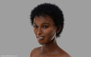 Vic6(Gen2) Neftis3D Fibermesh hair by erik-nl