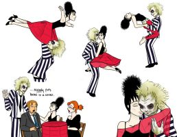 Beetlejuice and Lydia - The Time Of My Life by gckinsey