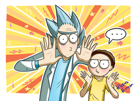 Rick and Morty by RezusError