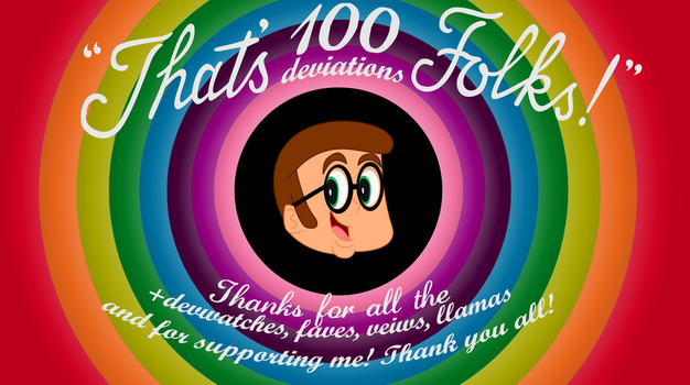 'That's 100 deviations Folks' by LooneyTunerIan