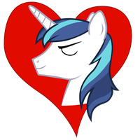 I heart Shining Armor by Stinkehund