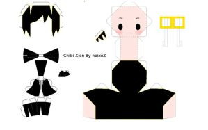 xion papercraft by noixeZ