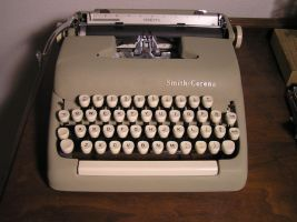 Stock: Smith-Corona Typewriter by k4-pacific