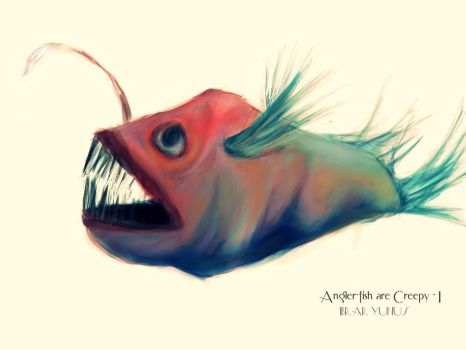 Angler-fish are Creepy-I by ZodiarkDarkja