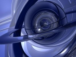 Abstract Blue 1 by Dracofemi