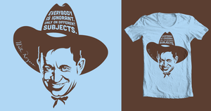Will Rogers T-shirt by coffeestained