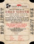 Dead Cirque WIP Flyer by CatoriWolf
