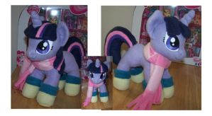 Winter Filly Twilight Sparkle plush by Helgafuggly