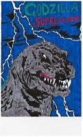Godzilla Supremacy cover (scanner quality) by Shin-Ben