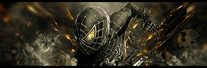 Spider Man, Black Suit II by Wolfheart66