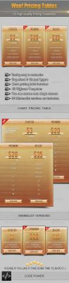 Woo! Pricing Tables by khaledzz9
