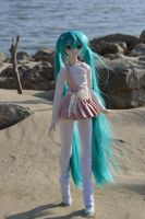 Miku takes a walk by CelestialLunarCrafts