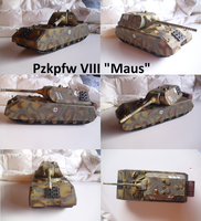 Pzkpfw VIII Maus by Teratophoneus