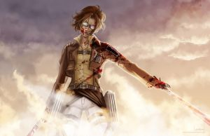 SNK - Hanji Zoe by Lowenael