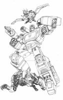 Soundwave pencils by Dan-the-artguy