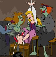 Princess Eilonwy tickled by taxwaxus