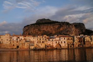Sicily - Cefalu' Sunset by realta-eireann