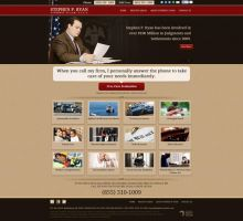 Stephen Ryan Law Website by HappyCatfishWeb