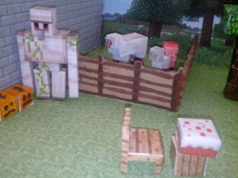 Ferme minecraft by astre90