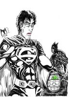 Batman and Superman - That is not a Easter Egg! by mdkex