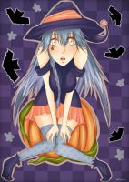 Halloween Witch by IStealYourCookiesx3