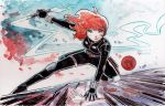 Watercolor: Black Widow by mikemaihack