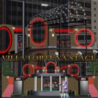 MMD Villa Fortuna Stage by Trackdancer