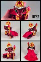 The Dragon King! by HereThereBeSculpture