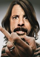 Dave Grohl by EbR1