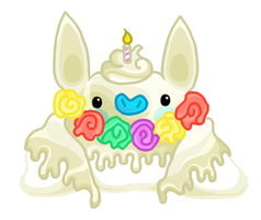 (CLOSED) Birthday Cupcake Dacbat by Raidac