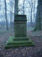 Graveyard in the forest 4 by Dragoroth-stock