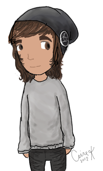 yes, i drew vic fuentes by Nezzykins