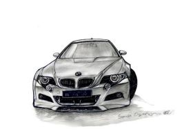 Bmw Design drawing2 by artsoni