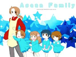 Asean Family by IDASWANZ