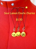 Sour Lemon Emote Charms by CynicalSniper