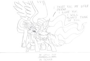 MLP:FiM - In tears. 1 by MortenEng21