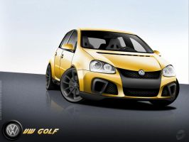 VW Golf Tunned by HATTR1CK
