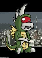 Gigan by wibblethefish