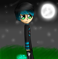 Danny in the moonlight by CooI