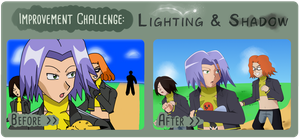 Lighting Challenge by TheBlackBullets