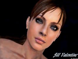Jill Valentine wallpaper 22 by ethaclane