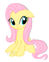 :: Fluttershy :: by kimidorima