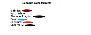 Sapphire color template by bethbear21fnafsonic