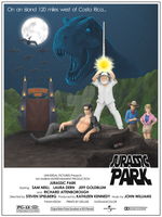 Jurassic Wars Poster by JMKohrs