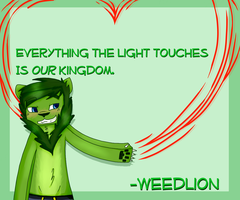 /For The Fangirls - WeedLion [Speed paint] by Timmingt0n