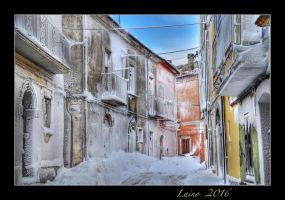 Snow white and the colors HDR by laino