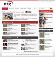 PTR website by designer-hassan