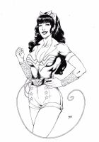 Bombshell Wonder Woman by Deilson