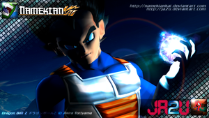 Vegeta - Third Dimension by NamekianKAI