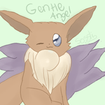 Fairy Eevee by sossli